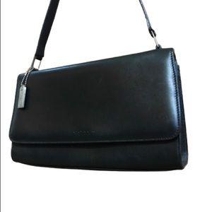 Vintage Coach Bridle Bag Purse Calfskin Italy 1999